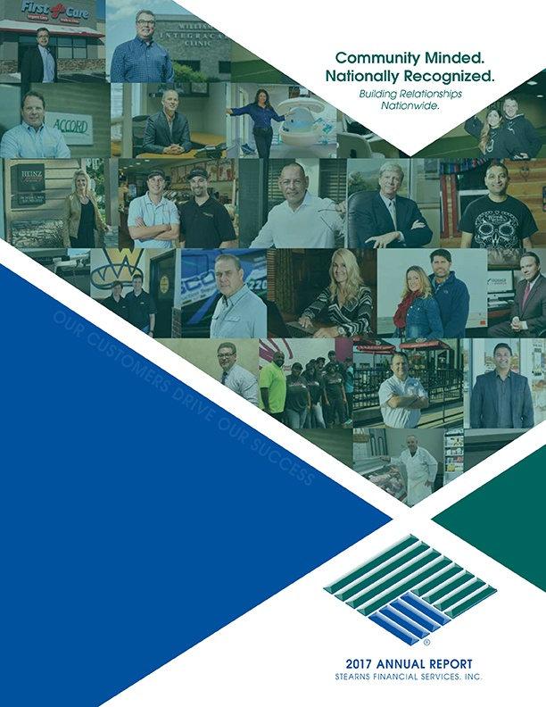 2017 Stearns Financial Services Annual Report-Cover