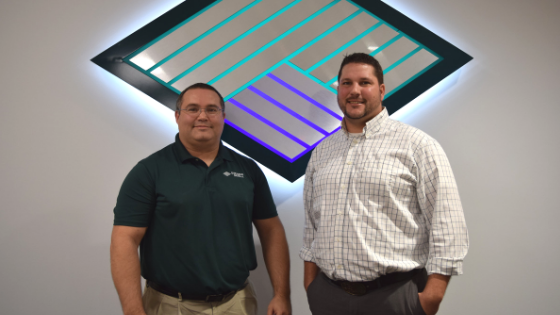 Adam Denny and Markus Denny work in the Equipment Finance division of Stearns Bank