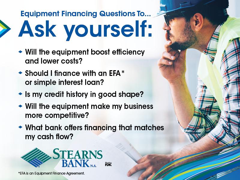 EquipmentFinancingQuestionsToAsk