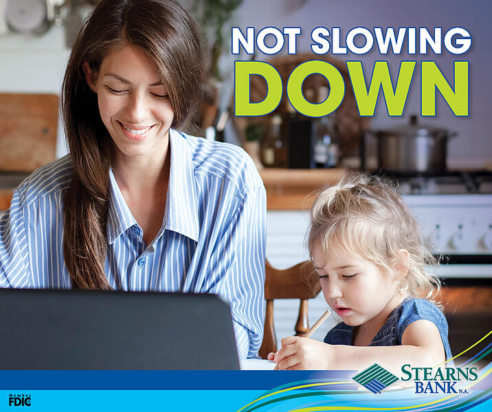 Not Slowing Down-Facebook Graphic