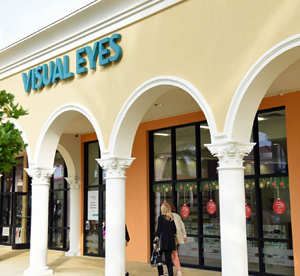 Visual Eyes storefront