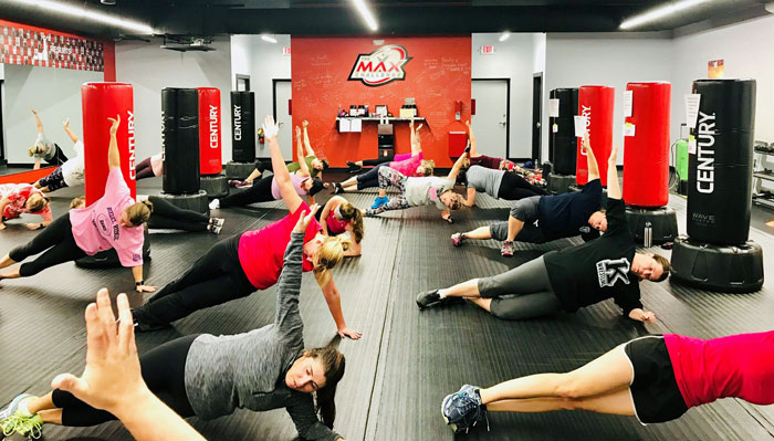 MAX Challenge fitness class