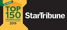 StarTribune Top 150 Workplaces 2019