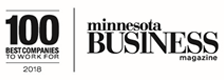 Minnesota Business Magazine 100 Best Companies to Work For