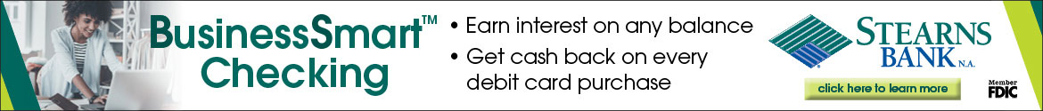 A business checking account with interest? Check us out.