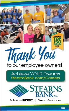 Learn more about careers at Stearns Bank