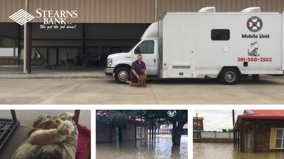 Veterinary Practice Rebounds From Hurricane With Help From Stearns Bank