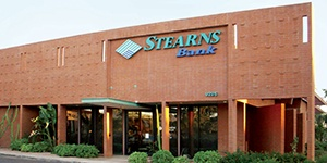 Scottsdale, Arizona branch building. Stearns Bank