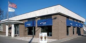 Albany, Minnesota branch building. Stearns Bank.