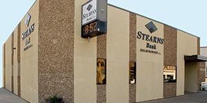 Holdingford, Minnesota branch building. Stearns Bank