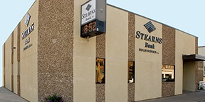 Holdingford, Minnesota branch building. Stearns Bank