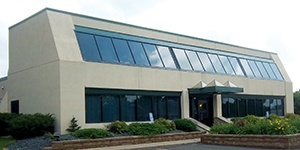 Pine City, Minnesota branch building. Stearns Bank.