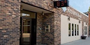 Upsala, Minnesota branch building. Stearns Bank.