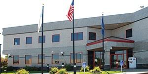 St. Cloud, Minnesota branch building. Stearns Bank.