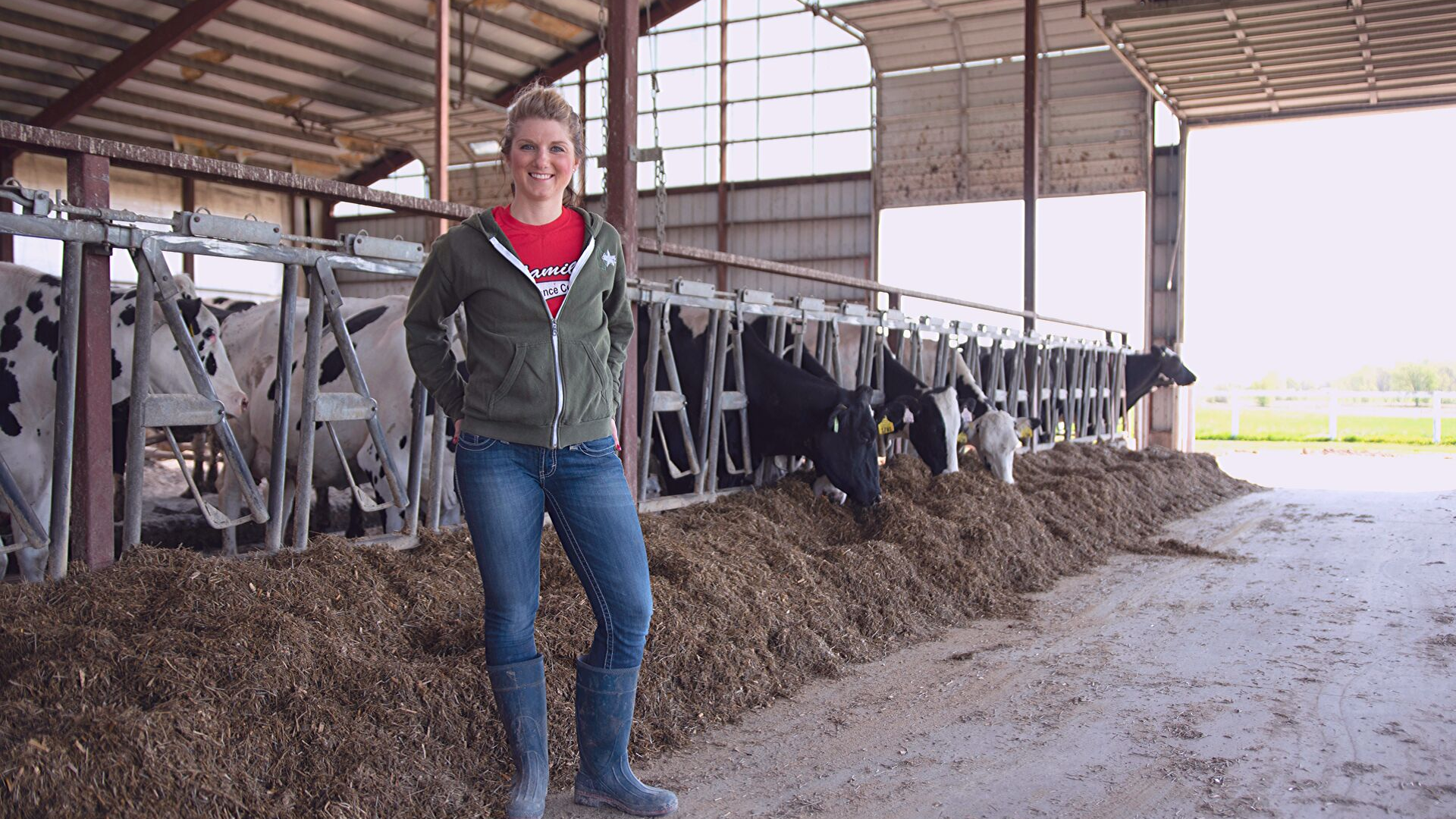 Dairy Farmer Creating Her Own Path On Family Farm