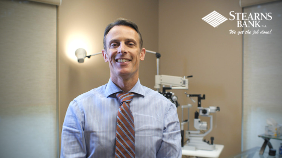 Texas Optometrist Relies On Stearns Bank For Quick Equipment Financing