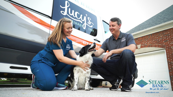 Mobile Veterinarian Teams Up With Stearns Bank For Equipment Financing
