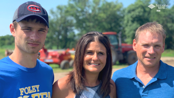 Ag Family Finds Personal Customer Service At Stearns Bank