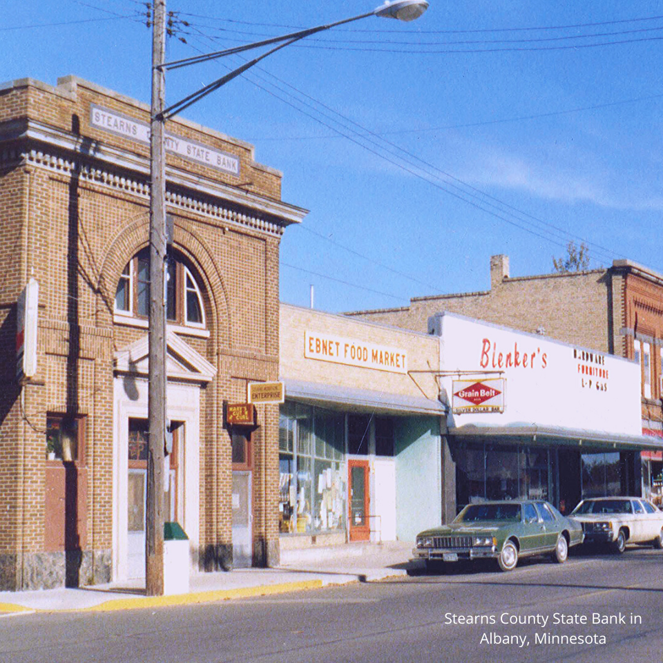 Stearns County State Bank 1960s