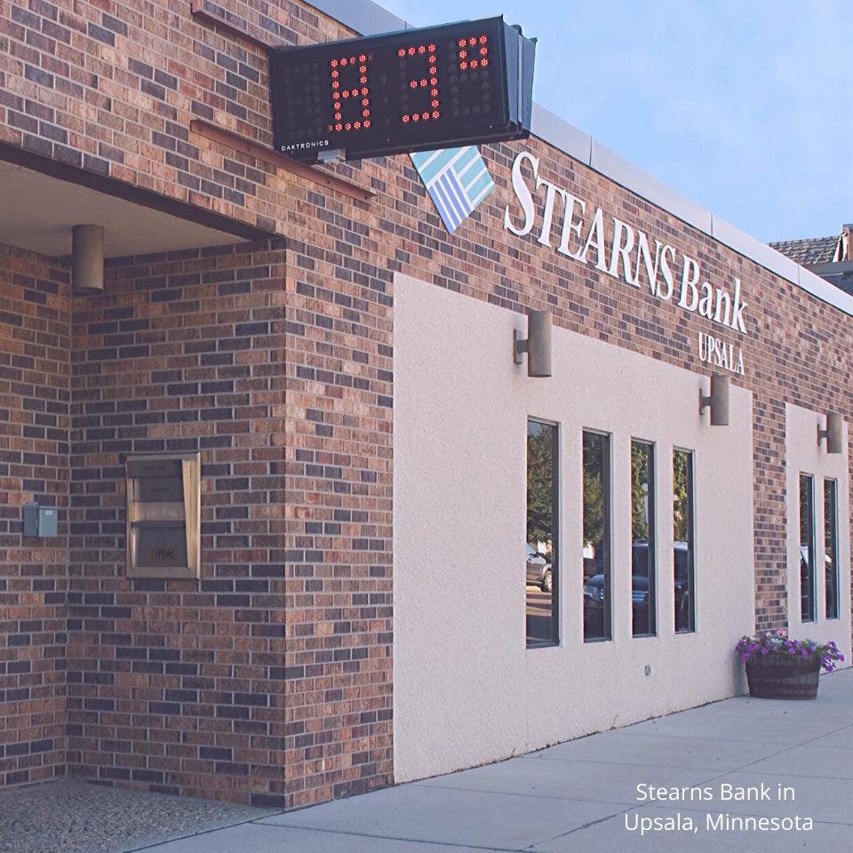 Stearns Bank Upsala branch