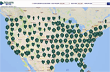 Stearns Bank customer map