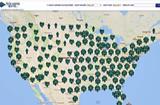 Stearns Bank customer map